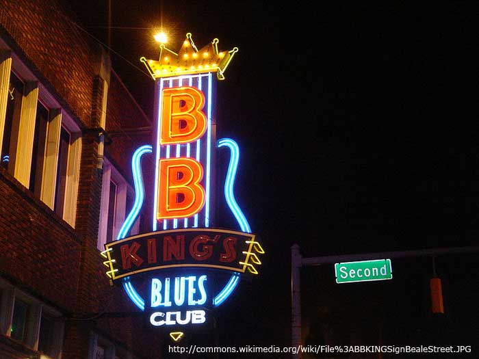 BB KIng CLub Beale Street