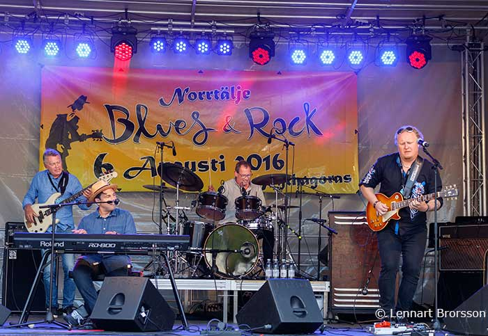 Headline Blues Band. Foto: Lennart Brorsson